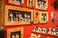 Традиционная рождественская ярмарка Стоковое Изображение RF