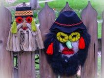Традиционная румынская маска Стоковое Изображение