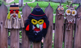 Традиционная румынская маска Стоковые Фотографии RF