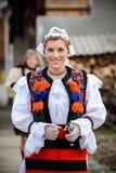 Традиционная румынская одежда Стоковые Фотографии RF