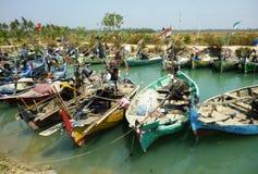 Традиционная рыбацкая лодка Стоковые Фото