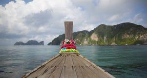 Традиционная рыбацкая лодка Стоковое фото RF