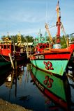 Традиционная рыбацкая лодка Стоковые Изображения