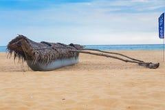 Традиционная рыбацкая лодка Sri Lankan Стоковая Фотография