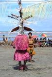 Традиционная соплеменная танцулька на празднестве маски Стоковое Изображение RF