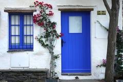 Традиционная среднеземноморская дом Стоковые Фотографии RF