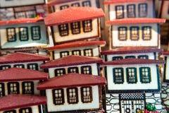 Традиционная тахта Safranbolu расквартировывает модель-макет стоковые изображения