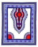 Традиционная ткань африканца Dashiki иллюстрация штока