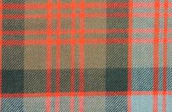 Традиционная ткань шерстей тартана клана Дональда Scottish Стоковая Фотография