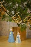 Традиционная установка рождества Стоковая Фотография RF