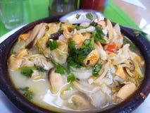 Традиционная чилийская еда стоковое фото