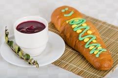 Традиционная эквадорская еда, guaguas de лоток и Стоковые Фотографии RF