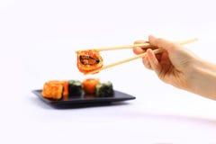 Традиционная японская еда, суши Стоковое Изображение RF