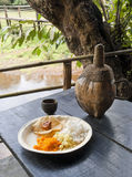 Традиционная goan еда: питье риса и анакардии Стоковое Фото