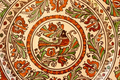 Традиционное венгерское керамическое Стоковые Изображения RF