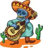 традиционное гитары характера мексиканское бесплатная иллюстрация