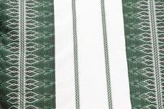 Традиционное греческое белье таблицы в Крите Греция Стоковое Изображение