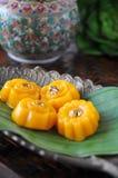 традиционное десерта тайское стоковые фото
