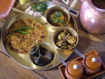 традиционное еды индийское Стоковые Фото