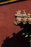 традиционное зодчества китайское Стоковые Фото