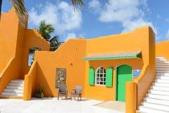Традиционное здание в Багамских островах Стоковое Фото