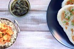 Традиционное индийское карри цыпленка масла Стоковые Фотографии RF