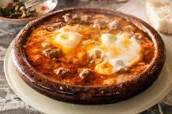 Традиционное морокканское блюдо Tajine Стоковая Фотография RF