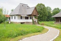 традиционное дома румынское Стоковое фото RF