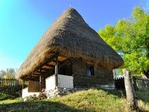традиционное дома румынское Стоковое Изображение RF