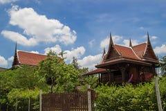традиционное дома тайское Стоковая Фотография