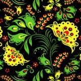 традиционное орнамента русское Стоковое Изображение