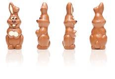традиционное пасхи шоколада зайчика сладостное Стоковые Изображения RF