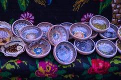 Традиционное румынское покрашенное вручную Стоковое Фото