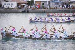 Традиционное событие в Окинаве Itoman Harley Стоковые Фотографии RF