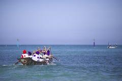 Традиционное событие в Окинаве Meijo Harleigh Стоковые Фото