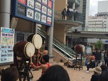 Традиционное событие в Японии Стоковые Фото