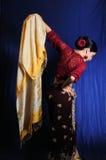 традиционное танцульки индийское Стоковые Фотографии RF