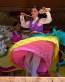 традиционное танцульки корейское Стоковые Фото