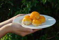 традиционное торта китайское Стоковое Изображение RF