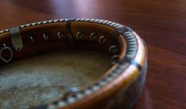 Традиционное узбекское doira музыкального инструмента, Стоковая Фотография
