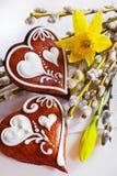 Традиционное украшение чеха пасхи Стоковая Фотография