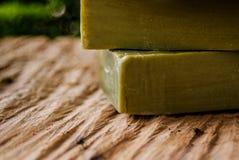 Традиционное чисто мыло оливкового масла от Греции Стоковое Фото