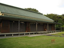 Традиционное японское здание Стоковое Фото