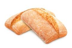 Традиционное ciabatta итальянского хлеба Стоковая Фотография