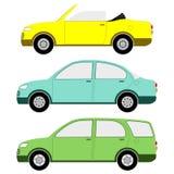 Традиционные автомобили Стоковое Изображение