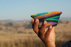 Традиционные африканские корзины Стоковые Изображения RF