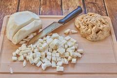 Традиционные голландские ингридиенты супа гороха Стоковое фото RF