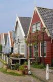 Традиционные голландские дома в Durgerdam стоковые фотографии rf