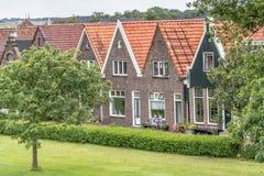 Традиционные голландские дома рыбной ловли Стоковая Фотография RF