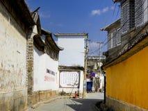 Традиционные жилые дома XiZhou Стоковое фото RF